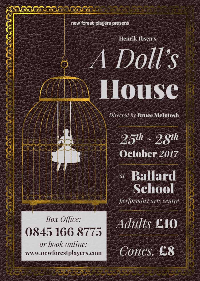New Forest Players A Doll S House